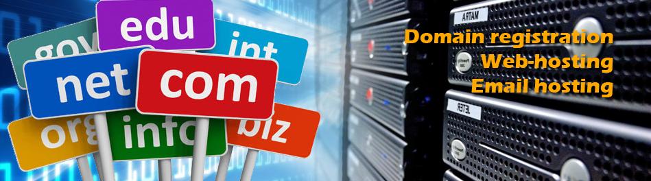 Domain Registration & Web hosting