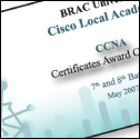 Banner Design & Printing for Cisco Local Academy, BRAC University